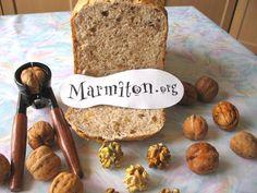 Recette de pain aux noix en M.A.P