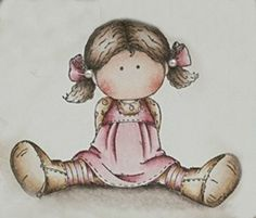 . Magnolias, Copic, Girl Pictures, Digital Image, Smurfs, Decoupage, Coloring, Scrap, Cartoon