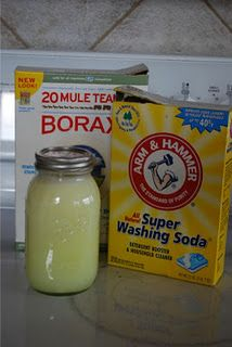 Homemade HE Laundry Detergent - I am trying this...