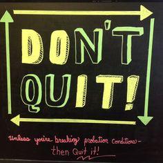Probation Chalkboard  Chalkboards