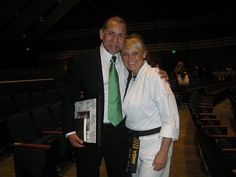 Grand Master Al Garza. There is something to be said about why I have been under his influence for the past 30 years. Great man, great martial artist and philosophies of life and positiveness. I am his first female Master Belt.