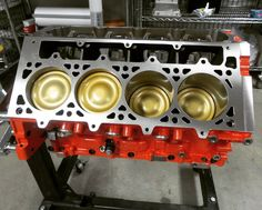 Custom #lsx short block assembled with #diamondracing coated pistons coming together quite nicely. This beast is going to be finished up w/ #cammotion custom #turbo cam #MastMotorsports #ls7 305cc heads and #latemodelengines custom manifold. Stay tuned for more pics! #lsxnation #lsnation #lseverything #lsengine #ls #photooftheday #instagood by mastmotorsports