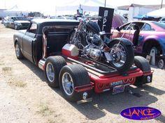 rear of 67-72 Chevy custom