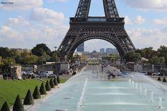 Paris in fall #paris #france #eiffeltower #fountain #French #fall