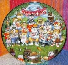 """Holiday Cats by artist Bill Bell """"Purrfect Pop"""""""