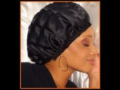 20ed3bdc153 A better silk satin bonnet tutorial. (in French) but very easy to