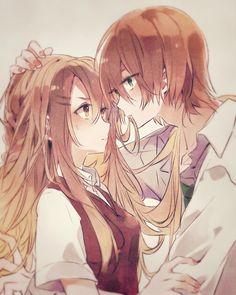 Pin on Anime Couple Anime Couples Hugging, Hot Anime Couples, Anime Couples Drawings, Anime Love Couple, Couple Hugging, Anime Cupples, Fan Art Anime, Otaku Anime, Anime Siblings