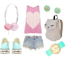 love the outfit, watch, and shoes <3