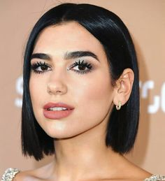 Dua Lipa Keeps It Real and Skips the Makeup on a Recent Beach Trip Hair Inspo, Hair Inspiration, Pelo Popular, Hair Quality, Synthetic Lace Front Wigs, Christina Aguilera, Bob Hairstyles, Hair Lengths, New Hair