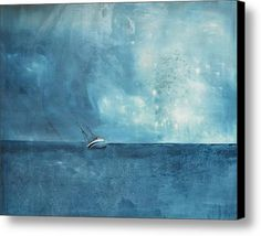 Blue Canvas Print / Canvas Art By Kristina Broza