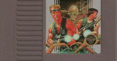 """Contra"""" - NES - R$ 150. No Museu do Videogame"""