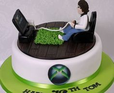 xbox cake   An Xbox themed cake for Toms 18th www.facebook.c…   Flickr