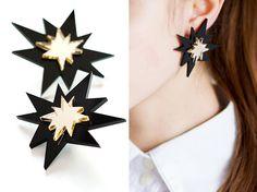 bang earrings