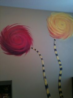 Truffela Tree Childrens Room Mural Painting