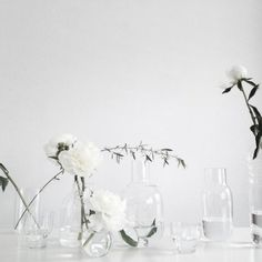 Makes me want cotton at my wedding..! Clear Minimalism / Wedding Style Inspiration / LANE