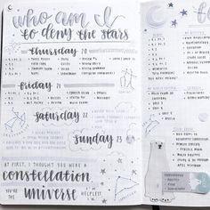 Bullet Journal Escapades — tbhstudying: here are a few old bullet journal...