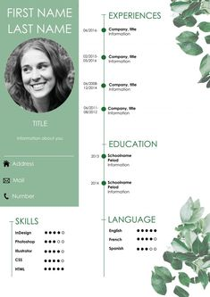Resume / CV If you like this cv template. Check others on my CV template board :) Thanks for sharing! Cv Design Template, Resume Templates, Cv Curriculum Vitae, Cv Inspiration, Free Resume Examples, Graphic Design Resume, Perfect Resume, You Better Work, Creative Resume
