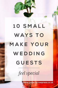 10 small ways to make your wedding guests feel special | Modern Wedding Invitations + Personalised Stationery. Paper Arrow Press, Modern Wedding Invites & Stationery #modernweddingstationery #weddingstationery #weddinginvitation #weddingplanning #modernwedding #weddingstyle #weddingdetails #weddinginvitations #weddingdesign #savethedate #bridetobe #bridetobe2017 #bridetobe2018 #weddinginspiration #weddingplanningadvice