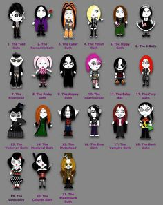 Yes im the emo goth.... And proud of it!!!