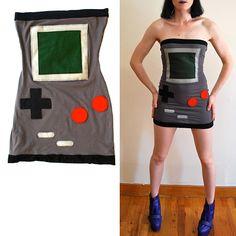 #Gameboy tube dress! Unbelievable! Un must per la retrogeek più fashion! ;)