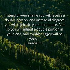 Isa. 61:7