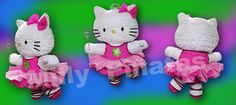 Piñata de Hello Kitty bailarina, Milly piñatas exclusivas