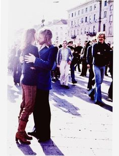 ABBA Fav couple in love Anni Frid and Benny Anderson