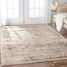 Shop for nuLOOM Oriental Vintage Viscose Persian Natural Rug (4' x 6'). Get free shipping at Overstock.com - Your Online Home Decor Outlet Store! Get 5% in rewards with Club O!