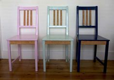 upcycled chairs - Google Search