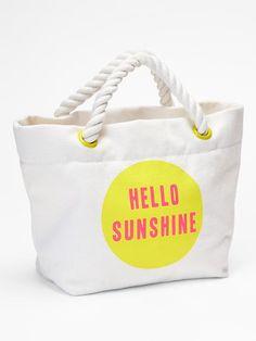 Sunshine rope tote Product Image