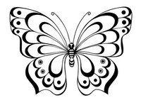 Бабочки,трафареты.