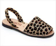 Solillas Menorcan Sandals   Balearic Islands   Collection '13 Leopardo