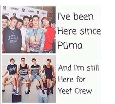 And I don't plan to leave anytime soon I'll be here as long as possible just for them