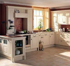 Идеи дизайна интерьера кухни в стиле кантри и пример их реализации