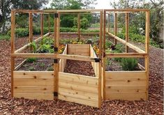 15+ INSPIRING RAISED GARDEN BEDS BEST FOR YOUR OUTDOOR DECOR - Designs can be improved by adding structure and height when building a raised garden. Soil erosion is a problem in some gardens and can be cured by building a raised garden bed.  #INSPIRINGRAISEDGARDENBEDSBESTFORYOUROUTDOORDECOR #OUTDOORDECOR #RAISEDGARDENBEDDESIGN Diy Garden Bed, Raised Garden Beds, Raised Beds, Garden Office, Garden Care, Greenhouse Panels, Greenhouse Ideas, Small Greenhouse, Backyard Greenhouse