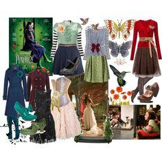 "My first wardrobe plot for Penelope Wilhern from ""Penelope"" - Bri (b-scottyer on Polyvore)"