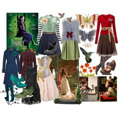 "My first wardrobe plot for Penelope Wilhern from ""Penelope"" - Bri (b-scottyer on Polyvore)"