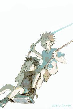 Uchiha Sasuke e Uzumaki Naruto Sasunaru, Naruto Vs Sasuke, Anime Naruto, Boruto, Naruto Cute, Sarada Uchiha, Narusasu, Manga Anime, Sasuhina