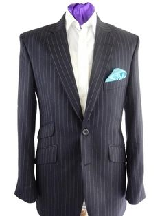 Twitter / TheDapperTailor: A lovely Navy pinstripe Suit, made by The Dapper Tailor £279 with Free Worldwide Shipping