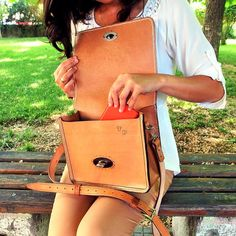 Leather bag Leather Bags Handmade, Leather Craft, Backpacks, Leather Crafts, Backpack, Backpacker, Backpacking