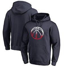 Washington Wizards Fanatics Branded Gradient Logo Pullover Hoodie - Navy - $64.99