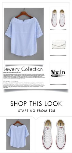"""Untitled #167"" by halimahasanbegovic ❤ liked on Polyvore featuring Converse and LULUS"