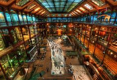 National Museum of Natural History, Paris  – Founded in 1793 during the French Revolution, The National Museum of Natural History in Paris is mostly known for its beautiful Great Gallery of Evolution gallery showing models of rhinoceroses, elephants, giraffes, hippopotamus etc.
