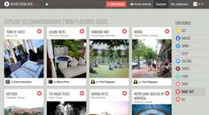 Everplaces, a Pinterest for the real world.