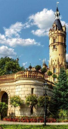 Castelo de Schwerin-Alemanha