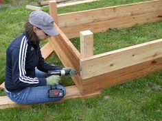 Backyard Planters Ideas design tips and ideas on landscaping a small yard Strubgrass Manor Backyard Planter Box Build Installation
