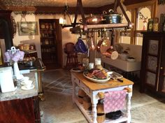 The kitchen of my dollhouse, The Lilac! 1:12 scale by Nina Eary