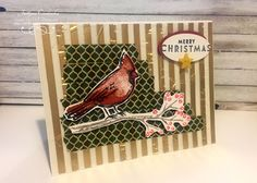 UK Independent Stampin' Up! Demonstrator Justyna (Perfect Crafts). Stampin' Up! Joyful Season Christmas Card, Kartka Świąteczna. Video Tutorial #stampinup   #christmascard   #joyfulseason #stamping #stampin #cardmaking #papercrafting #crafts  #stampinupuk