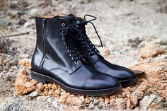 Margiela Laceup boots
