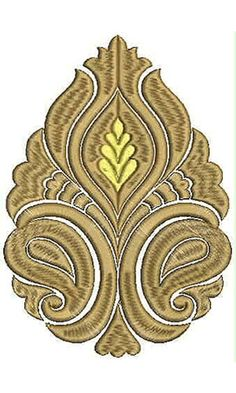 Cushion Pattern Applique Embroidery Design